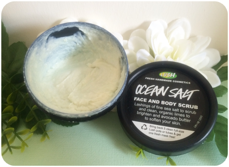 Aug - July Fav Buys - Lush Ocean Salt
