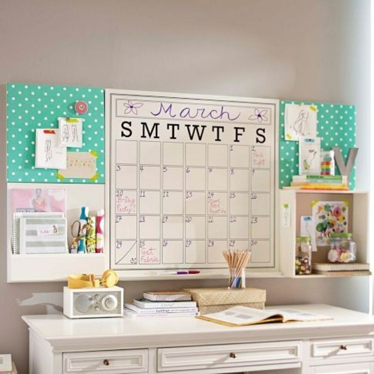 Aug - Tuesday Tips - Desk - Bulletin Board