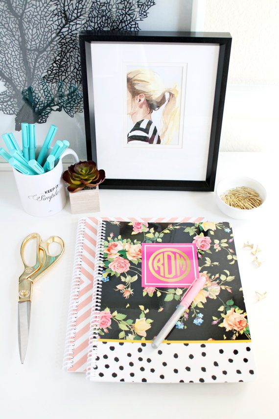 Aug - Tuesday Tips - Desk - Notebooks