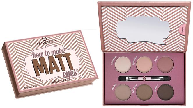 Essence - How To Make Matt Eyes Make-up Box