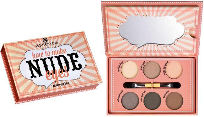 Essence - How To Make Nude Eyes Make-up Box
