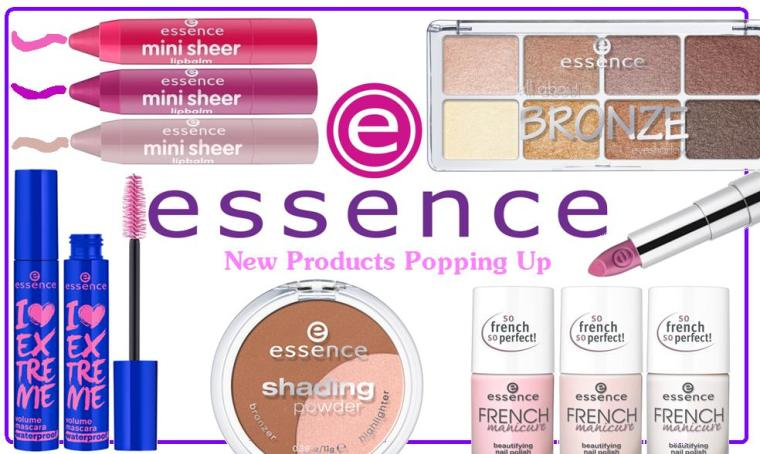 Essence New products popping up 1
