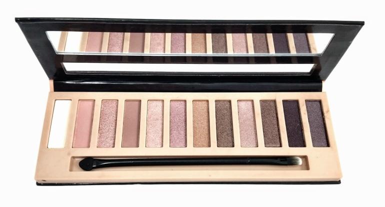 LA Girl - Beauty Brick - Eyeshadow - Nude