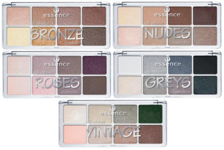 New - Essence - Eyes - All About Eyeshadows - All 2
