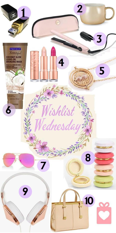 Wishlist - Aug 3