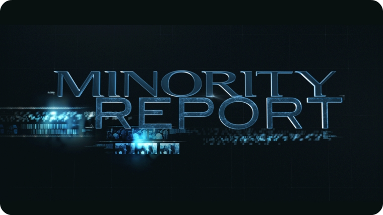 Minority Report - Logo