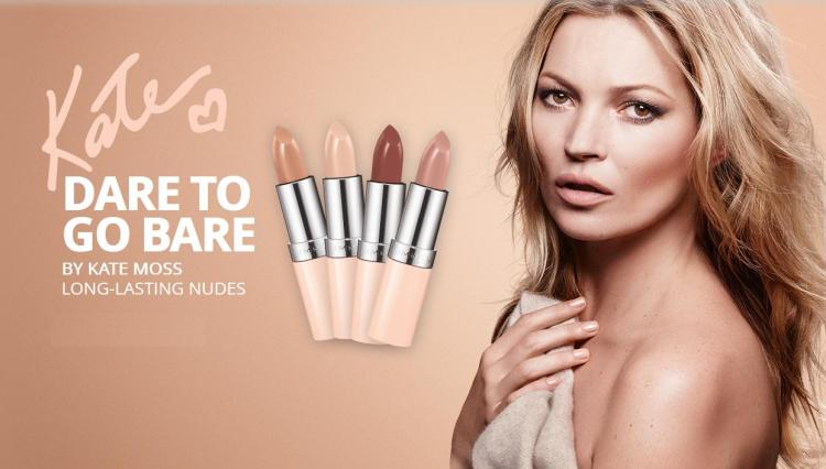 Rimmel - Dare To Go Bare - Kate Moss - Pic 3