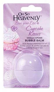Oh So Heavenly Bubble Balm - Cupcake Kisses Vanilla Cupcake