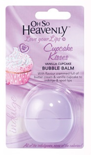 Oh So Heavenly Bubble Balm - Cupcake Kisses Vanilla Cupcake