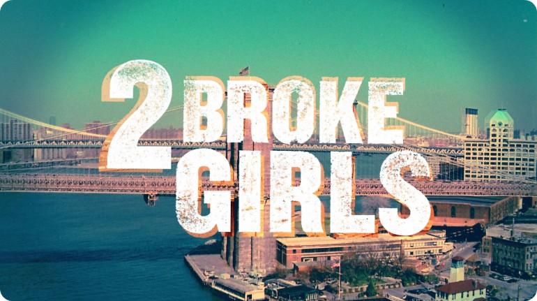 2 Broke Girls Logo 1