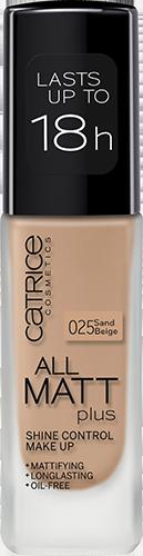 Catrice - New - 2016 - All Matt Plus - Shine Control Make Up Pic 1