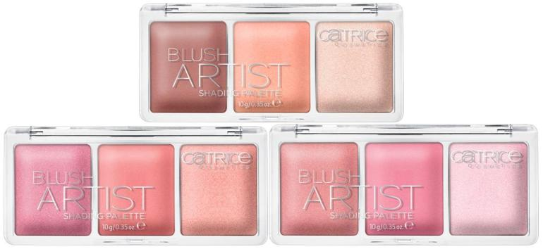 Catrice - New - 2016 - Blush Artist Shading Palette All 2