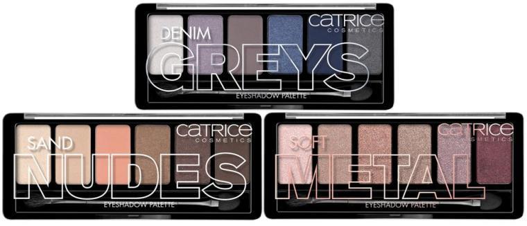 Catrice - New - 2016 - Eyeshadow Palettes 1