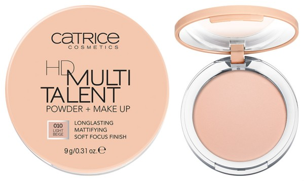 Catrice - New - 2016 - HD Multitalent Powder & Make Up - Both