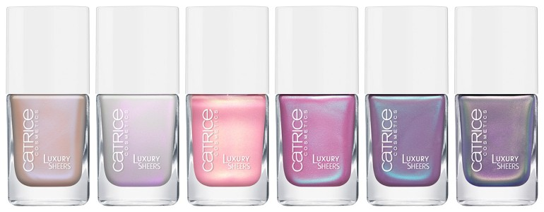 Catrice - New - 2016 - Luxury Sheers Nails - All
