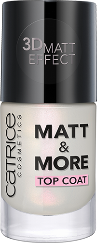 Catrice - New - 2016 - Matt & More Top Coat