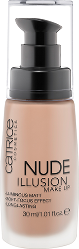 Catrice - New - 2016 - Nude Illusion Make Up Pic 1