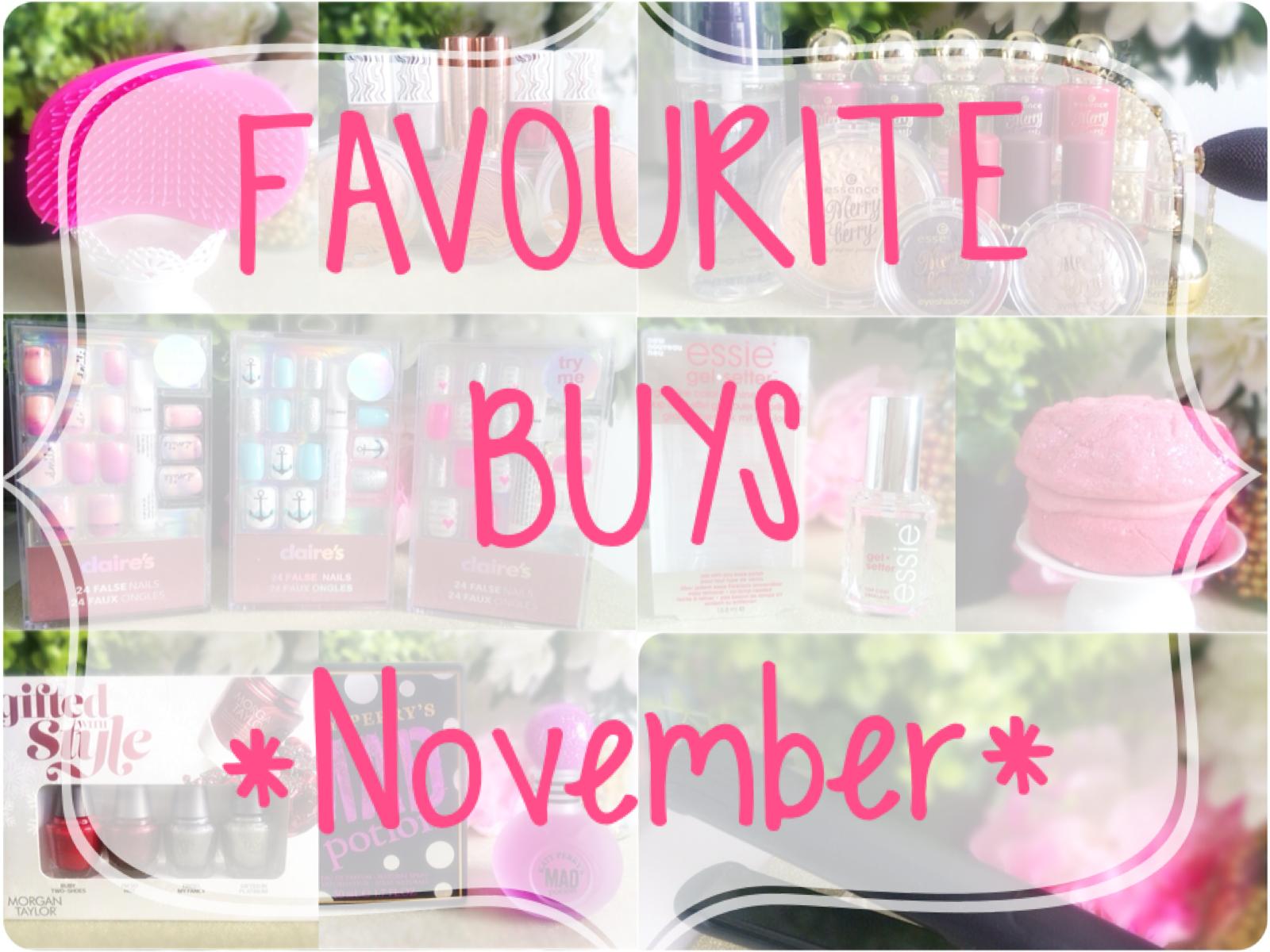Favourite Buys November 2015 Popcorn Amp Pearls Beauty