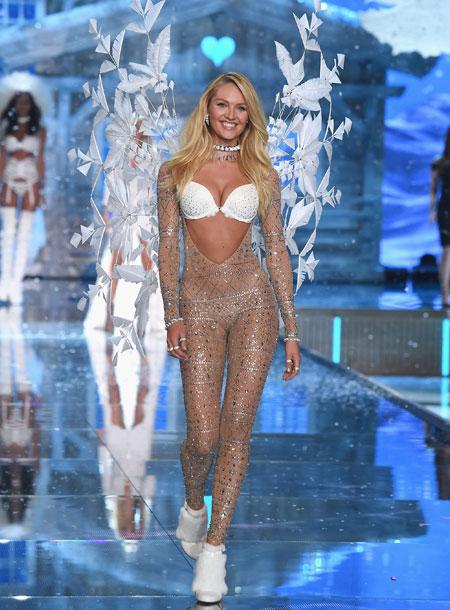 VS - 2015 - Ice Angels - Candice Swanepoel - Opens