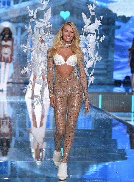 VS - 2015 - Ice Angels - Candice Swanepoel - Opens