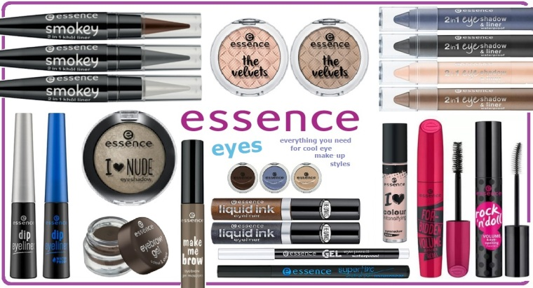 Essence New Products - Eyes