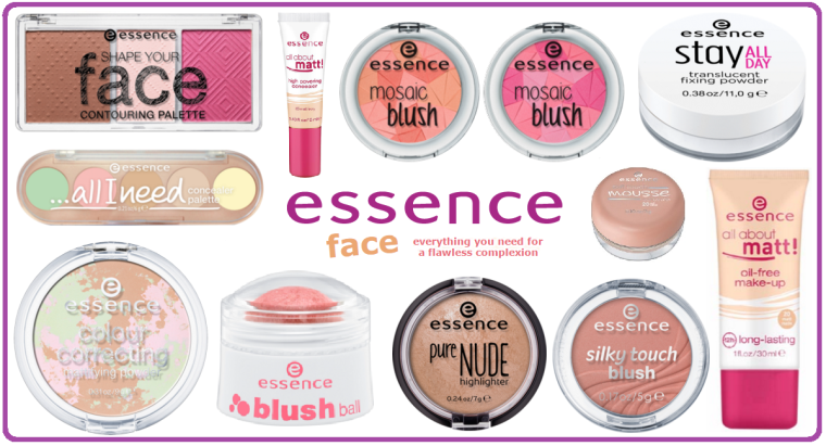 Essence New Products - Face