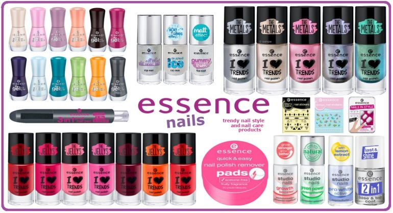 Essence New Products - Nails