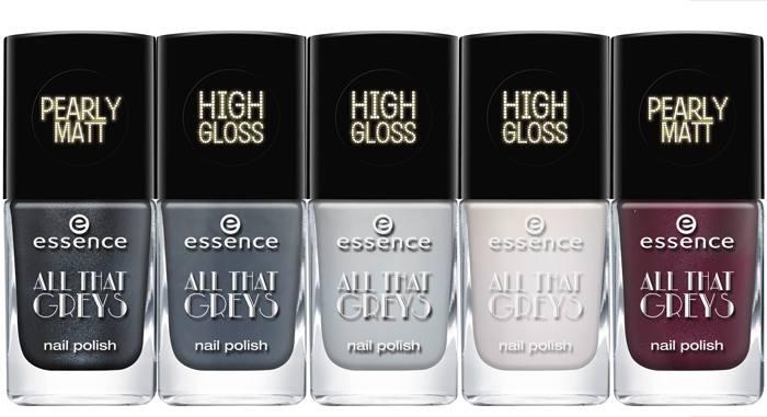 Essence - Trend Edition - All That Greys - Nail Polish