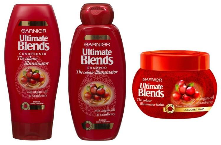 Garnier - Ultimate Blends - Argan Oil and Cranberry Range