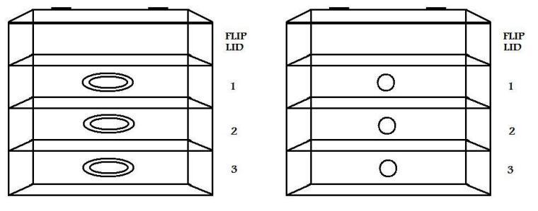 Glamcubes - 3 Drawer Organzier b