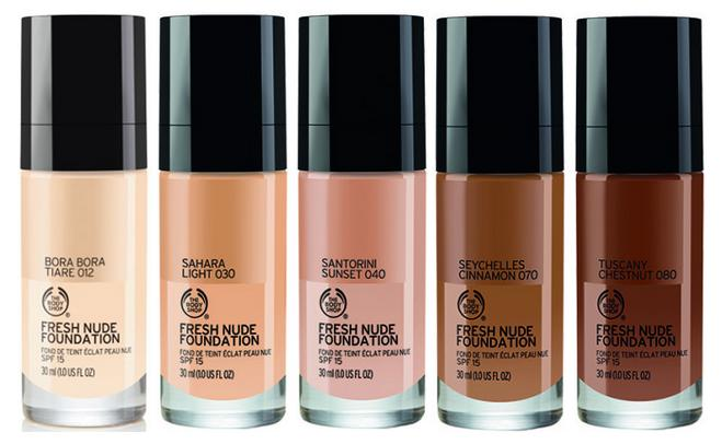The Body Shop Nude Foundation
