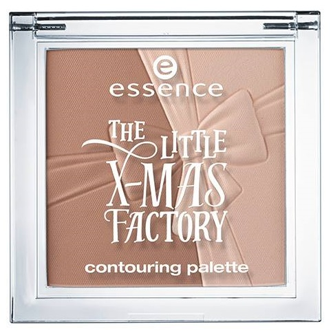 Essence- Litte Xmas Factory Holiday - Contouring Palette
