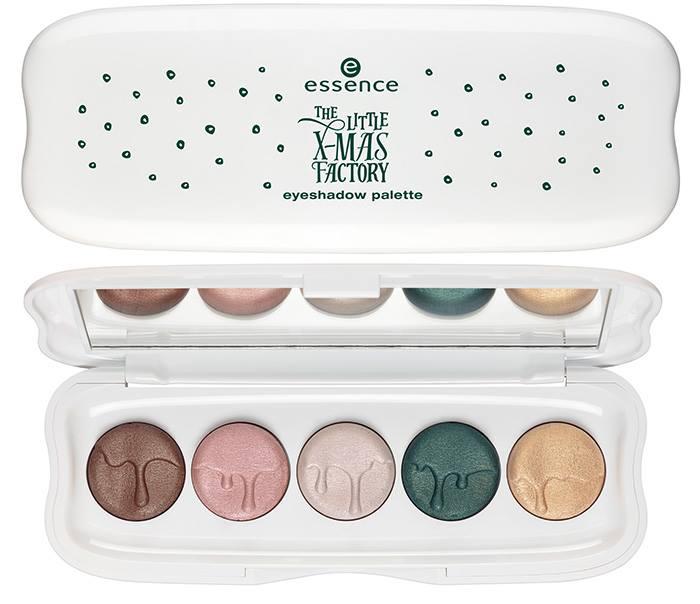 Essence- Litte Xmas Factory Holiday - Eyeshadow Palette
