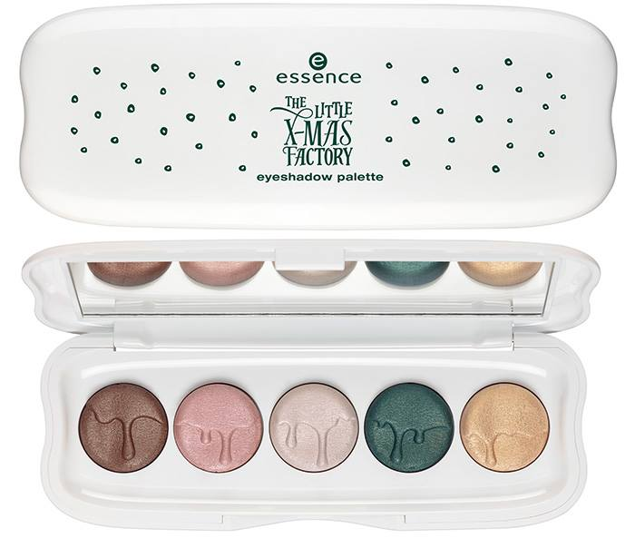 Essence- Litte Xmas Factory Holiday - Eyeshadow Palette