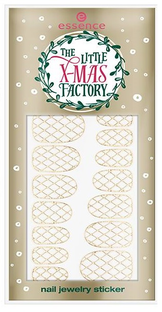 Essence- Litte Xmas Factory Holiday - Nail Jewelry Sticker