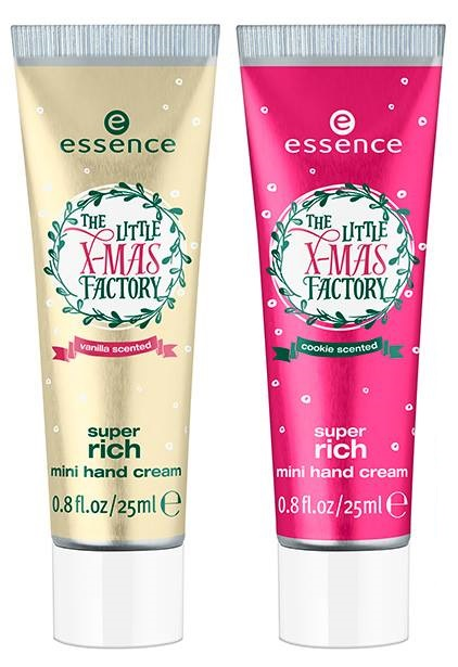 Essence- Litte Xmas Factory Holiday - Super Rich Mini Hand Cream